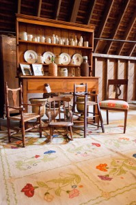 Furniture and antiques from some of the Long Island's most prominent homes will be available for purchase at the Red Truck Estate Sale.