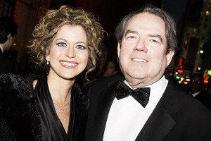 Tulsa native Jimmy Webb with wife Laura Savini, both of whom currently call the North Shore home.