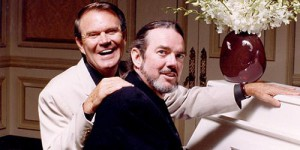 Although Jimmy Webb's songs have been recorded by a number of artists including the Fifth Dimension, Frank Sinatra and actor Richard Harris, Glen Campbell (pictured here) is who Webb has most closely been associated with over the years.