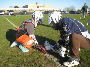 A pair of NCPAL Knights gearing up for the Jay Gallagher Tournament