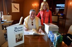Ann Liguori with publisher/author Martin Davis
