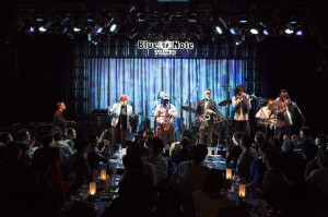 The Skatalites recently playing the Blue Note in Tokyo.
