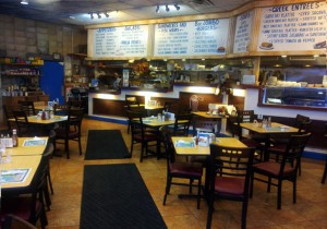 The Carle Place Greek Corner location. There is one other restaurant in Franklin Square.