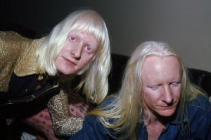 Edgar Winter (far left) will be paying musical homage to late brother Johnny (right) at the Rock'N'Brews Fest