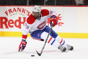 Resigning RFA P.K. Subban is going to be a major priority for the Montreal Canadians. (Photo by Al Bello/Getty Images)