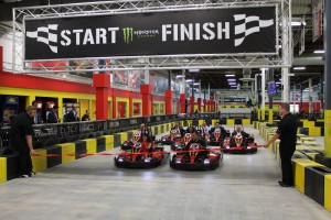 The go-karts that are used at Pole Position all run on electricity