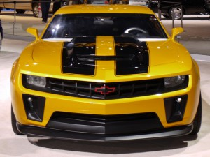 Bumblebee from the Transformer films