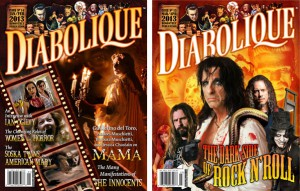 Diabolique Magazine will be one of the vendors at this years Blood & Babes Comic Con