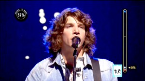 Jesse Kinch during his recent performance on ABC's Rising Star