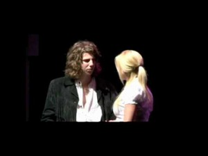 Jesse Kinch in a scene from Two Tickets To Paradise