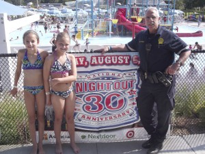 National Night Out at the Garden City Pool (Click on image for more photos)