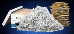 Residents wishing to shred documents are limited to 6 boxes or bags of paper per car, per event.