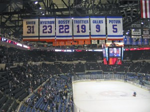 Good-bye Islanders, as the team moves to Brooklyn, lock, stock and hockey puck.