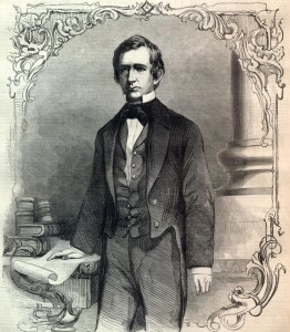 William Seward was re-elected to the U.S. Senate by the legislature in February 1855.
