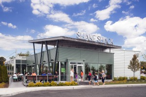 Shake Shack in Westbury (Photo by Peter Mauss)