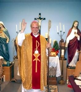 At right: Bishop Peter Robert Raimondi of St. Peter & St. Paul's Anglican Church. Photos courtesy of Bishop Raimondi