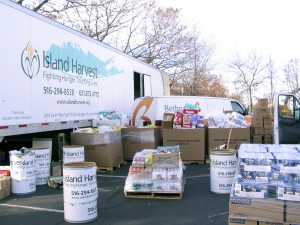 Island Harvest Food Bank donations