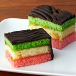 Rainbow Cookies (Photo courtesy of FoodNetwork.com)