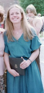 New Hyde Park Memorial High School alumnus Kathie McCormack Durst is pictured here on the day she graduated from Western Connecticut State College in 1978. (Photo by Jim McCormack)