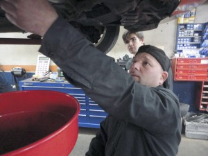 You can change your car's oil if you have the tools and knowledge, but it's best handled by an automotive service professional. (Photo by Rob Campbell)