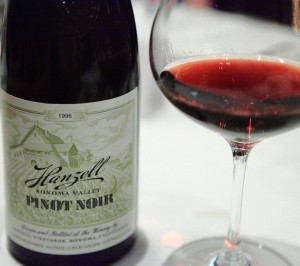 The Sonoma region of California produces excellent pinot noir.