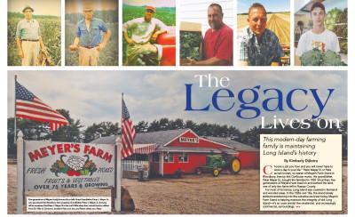 Meyers Farm Gold Coast Magazine spread