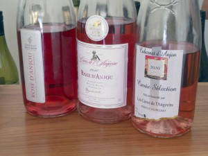 Anjou Rosé is one of the many lighter-bodied and casual wines that are perfect to partake in during the spring.