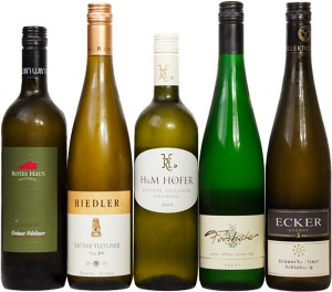 Austrian wine known as grüner veltliners offer aspiring wine connoisseurs some of the best bang for their collective buck.