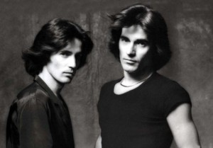 The Alessi brothers of Barnaby Bye circa 1982