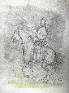 Chevalier a la lance