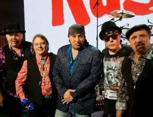 Steve Van Zandt (center) with the reunited Rascals (Photo by David Gordon)