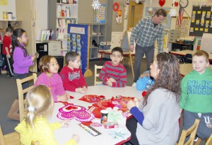 In Mill Neck's Integrated Preschool program, hearing and deaf children learn together.
