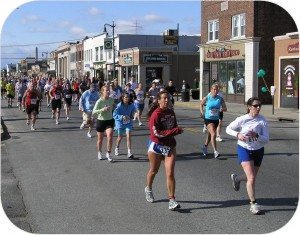 The Post Avenue section of a prior Long Island Marathon