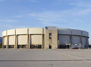 Nassau Veteran's Memorial Coliseum is Uniondale's most prominent landmark