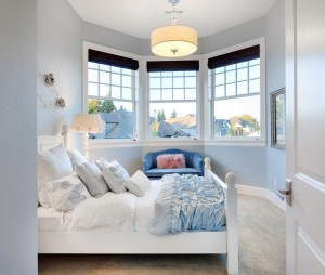 Bedrooms are the room where minimalism becomes most crucial when staging your home for sale.