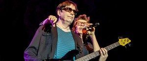 Tim Butler (left) and Richard Butler of the Psychedelic Furs