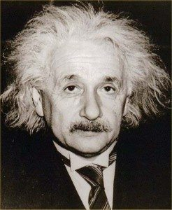 Albert Einstein is mentioned in the new Nelson DeMille novel Radiant Angel