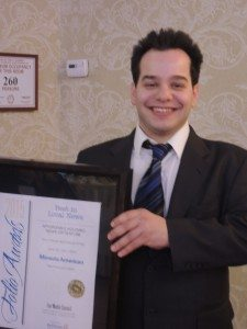 Mineola American editor Rich Forestano took first place in the Affordable Housing News or Feature category.