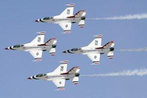 Thunderbirds in action