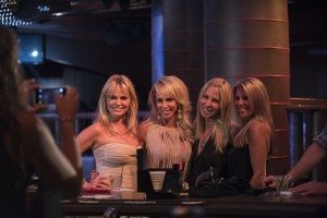 Some of the gals from Secrets and Wives nightclubbin'