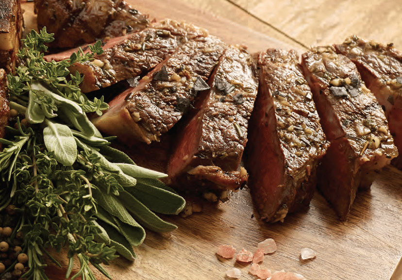 Serve steak at your next party.