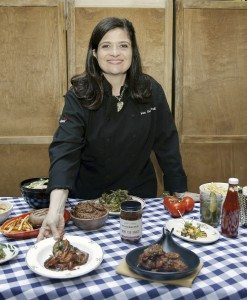Chef and restaurant owner Alex Guarnaschelli is ready for summer with her wine and BBQ inspired menu. (Photos by Brian Ach/Getty Images)