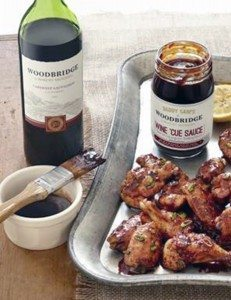 Oven-Baked Woodbridge Wine Chicken Wings (Photo by Brian Ach/Getty Images)