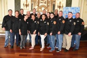 """""""Cast Iron Chef"""" police competitors (Photo courtesy of NYIT)"""