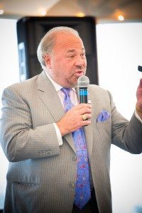 Bo Dietl of Imus in the Morning Fox News, auctioning off his table for 8 at Rao's NY (Photos by Tom Fitzgerald and Pam Deutchman /http://www.society-in-focus.com)