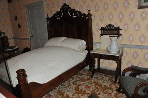 President Abraham Lincoln slept at the David Wills House before his Gettysburg Address.