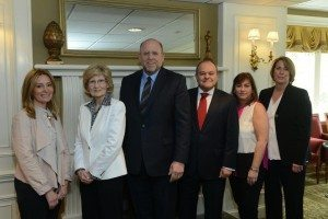 From left to right: Alexis Siegel, Janice Ashley, Andrew Malekoff, John Grillo, Amy Cantor, Edie Magnus