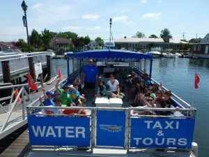 Take a daytime or sunset cruise with Freeport Water Taxi