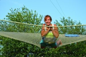 You don't have to run away with the circus to learn to trapeze, just visit I.FLY.