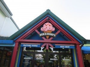 Get the scoop on how ice cream is made on the Ben & Jerry's factory tour.